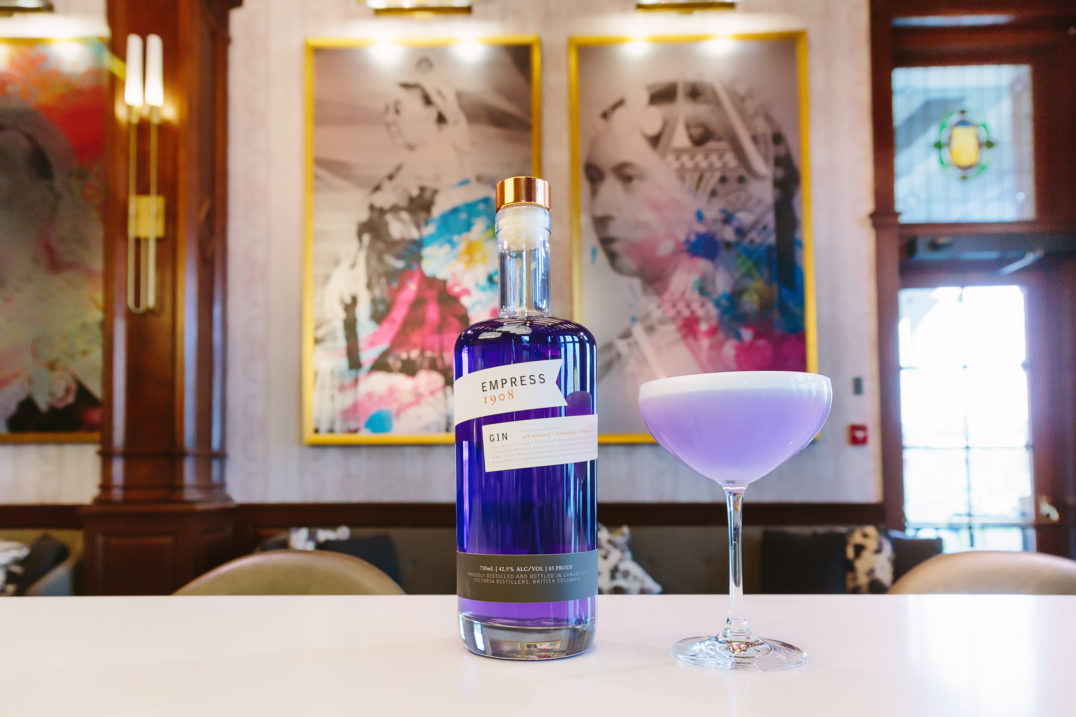 Live Colourfully. Empress 1908 Gin.